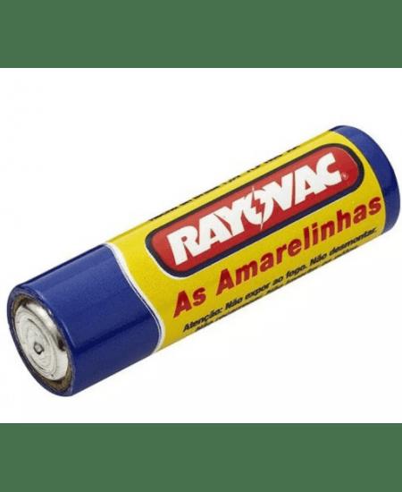 Pilha de Zinco Palito AAA (02 Unidades) Rayovac