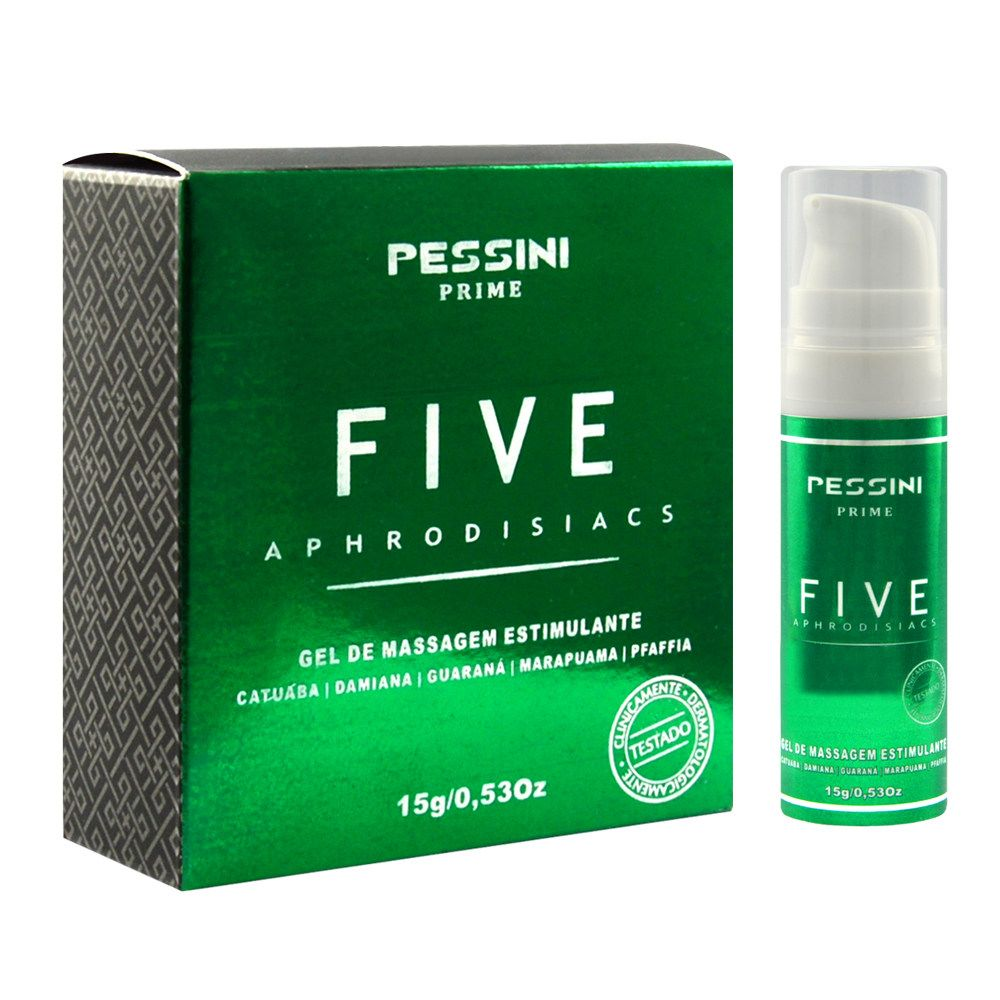Five Afrodisíaco Estimulante 15g Prime Pessini