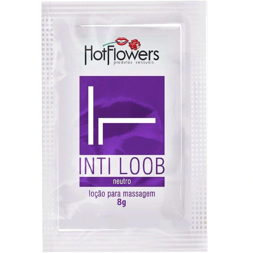 Inti Loob Lubrificante Sachê 8g Hot Flowers