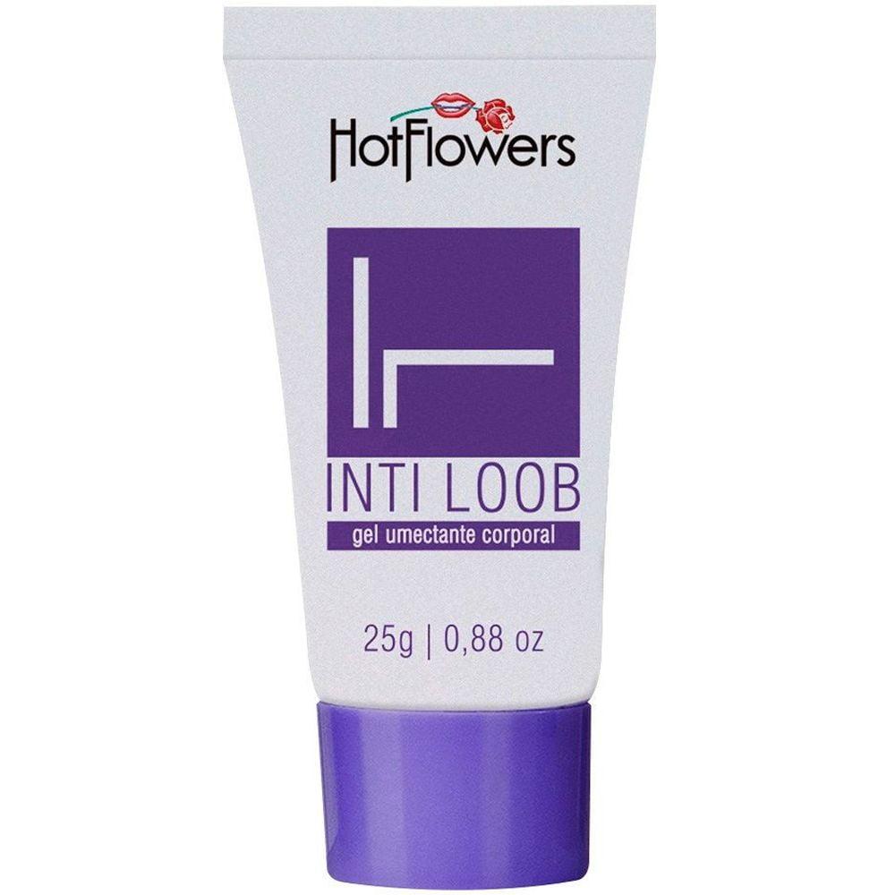 Inti Loob Lubrificante 25g Hot Flowers