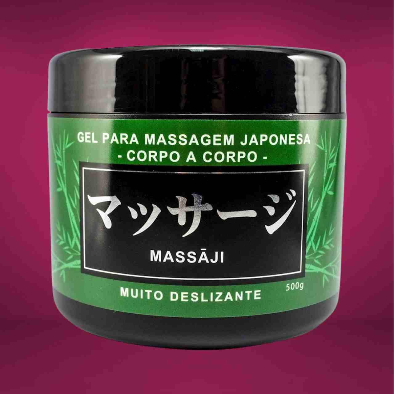 Massaji Gel Massagem Corpo a Corpo 500g Hot Flowers