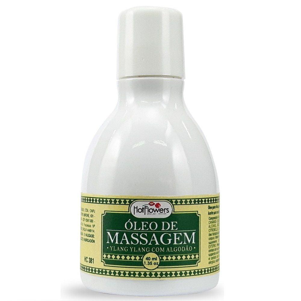 Oléo de Massagem Beijável 40ml Hot Flowers