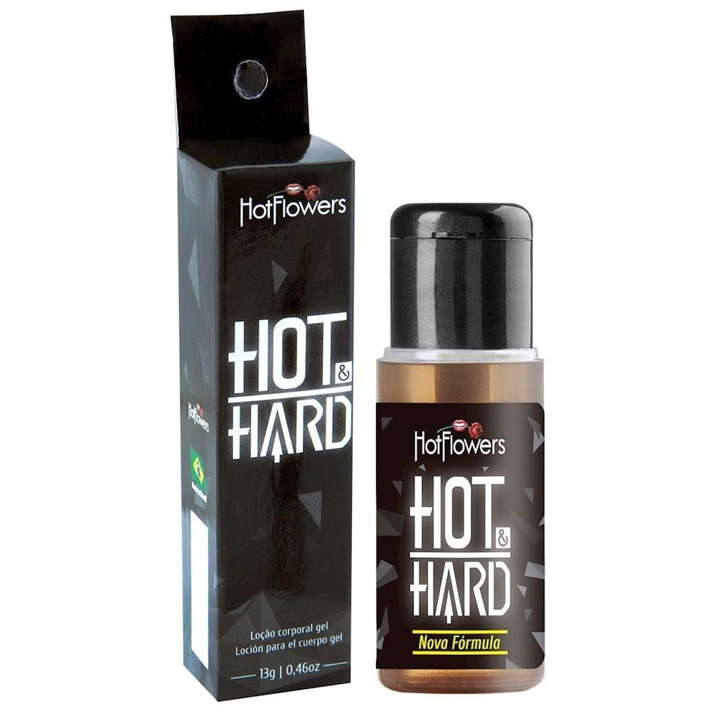 Hot Hard Provocador de Ereção 13g Hot Flowers