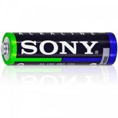 Pilha Alcalina Pequena AA (02 Unidades) Sony