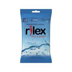 Preservativo Lubrificado 3 Unidades Rilex