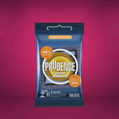 Preservativo Super Sensitive  3 Unidades Prudence