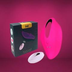 Vibrador de Calcinha Sem Fio 12 Modos de Vibração Paname  Intt