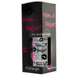 Vem Beijar Aromatizante Bucal Morango 15ml Pessini