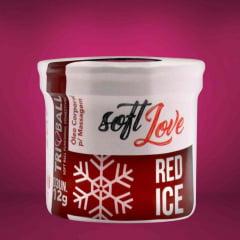 Bolinha Triball Beijável Red Ice Cereja 3 Unidades Soft Love