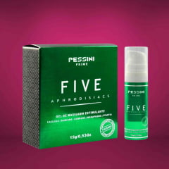 Five Afrodisíaco Estimulante 15g Pessini Prime
