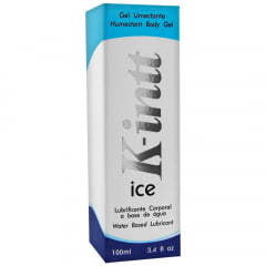 Lubrificante Íntimo K-Intt Ice à base de água 100ml INTT