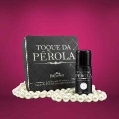 Kit Toque da Pérola Massagem Sensual Hot Flowers