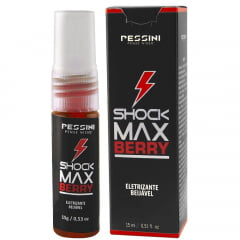 Shock Max Berry Spray Eletrizante 15ml Pessini