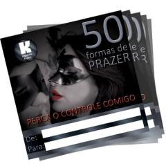 Cartão de Presente 50 Formas de Prazer Casal K-Import