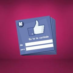 Cartão de Presente Facebook K-Import
