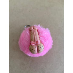 Chaveiro Pompom Mini Pênis Drica Biscuit