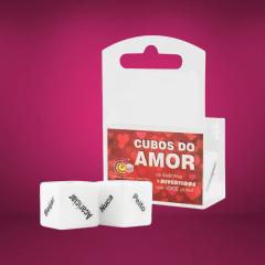 Dado Duplo Cubo do Amor Diversão ao Cubo