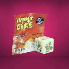 Dado Funny Dice Glow Posições Hétero Brilha no Escuro Diversão ao Cubo