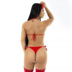 Mini Fantasia Body Bombeira Pimenta Sexy